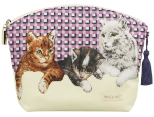 Paul and Joe kitty makeup bag
