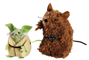 Yoda and Chewbacca