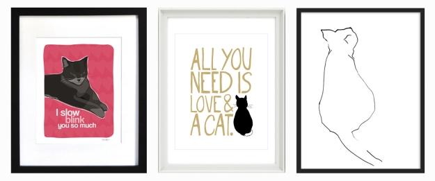 Cat prints 1