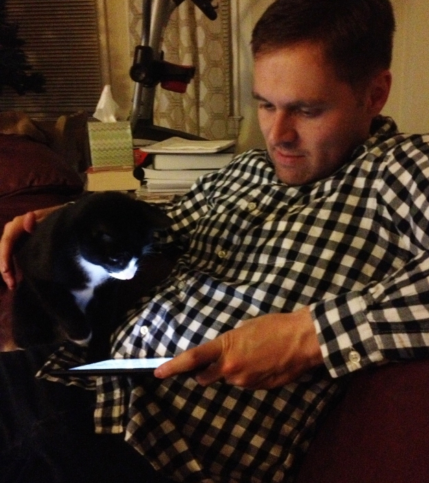 Tux and dad