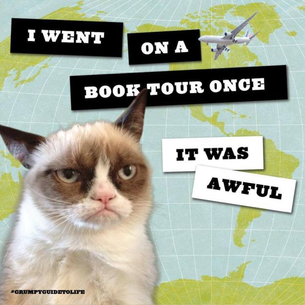 Grumpy Cat book tour