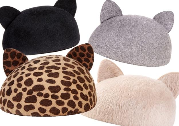 Caterina cat ear hat