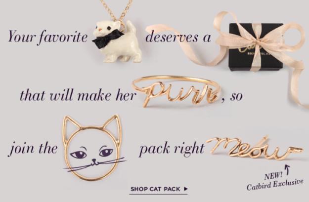 Cat items - Catbird