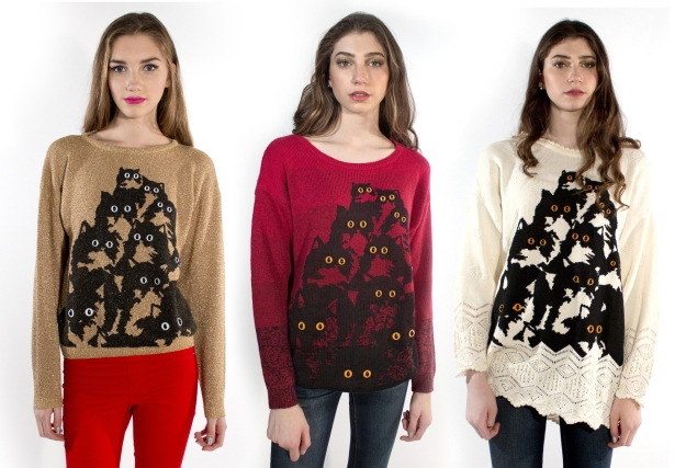 Crazy Kitty sweaters