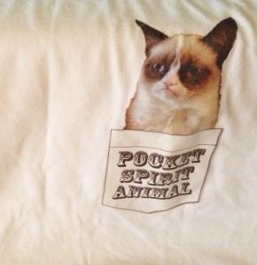 Pocket Spirit Animal Grumpy