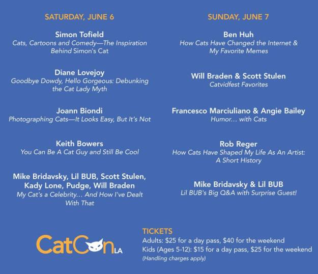 Cat Con speaker list