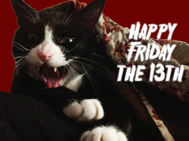 Scary Tux - Friday the 13th