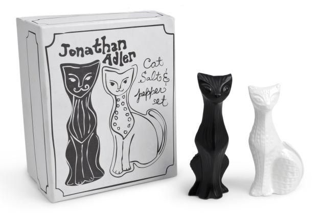 Jonathan Adler Cat Salt & Pepper Shakers