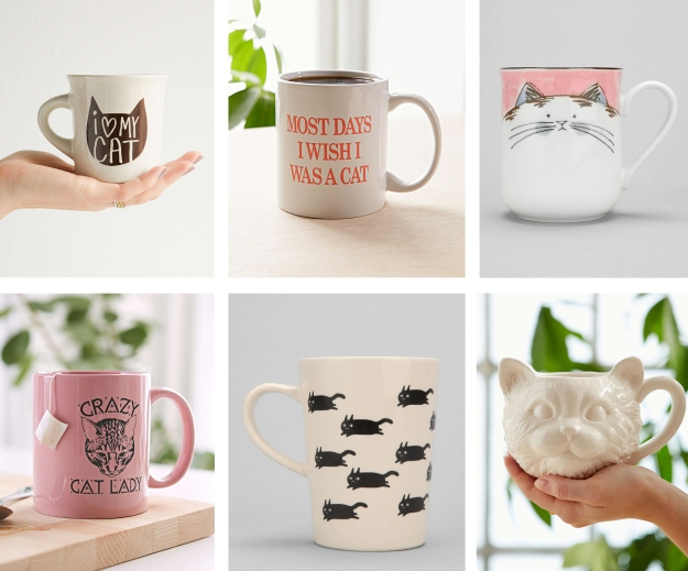 Cat mugs - Urban Outfitters