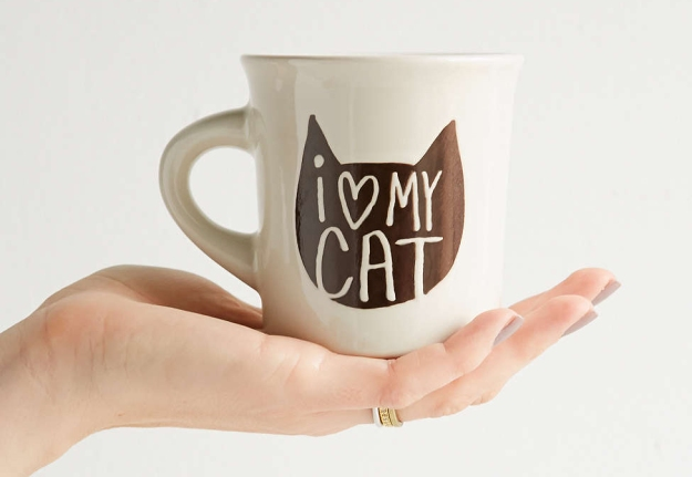 Cat mug - I love my cat