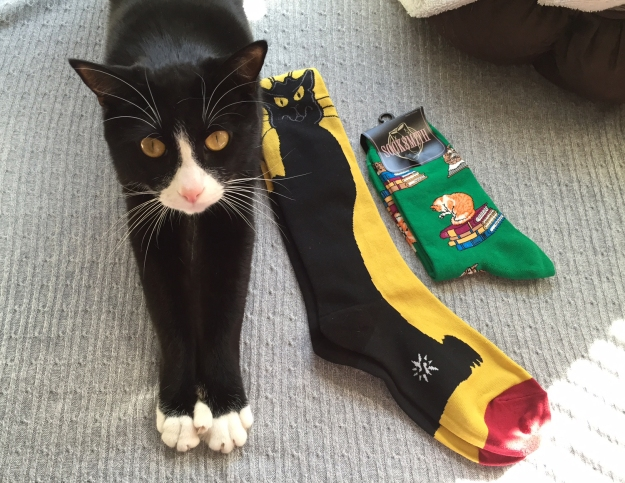 Tux and socks