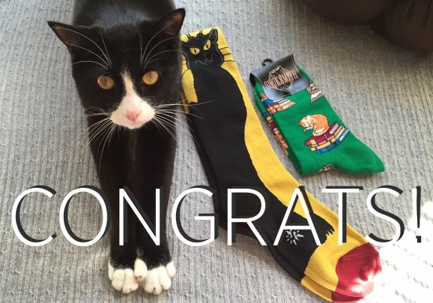 Tux congrats