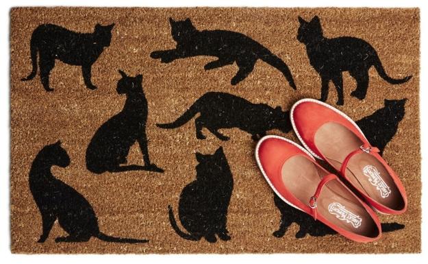 Purr-fect doormat - Modcloth