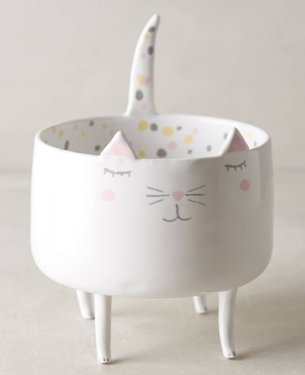 Kitty trinket dish - Anthropologie