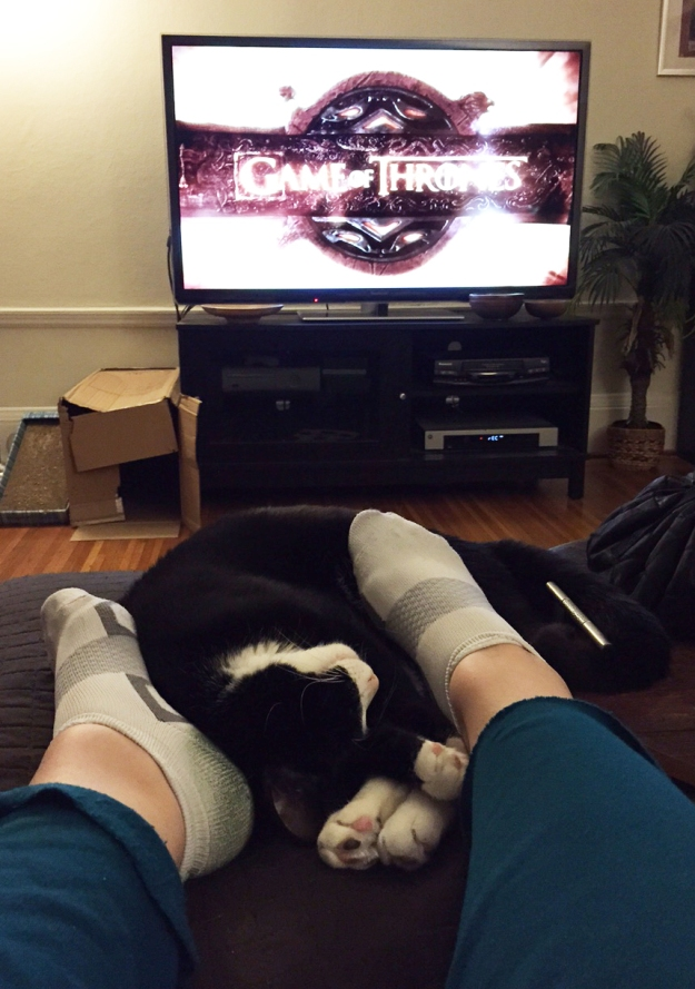 Game of Thrones snuggles