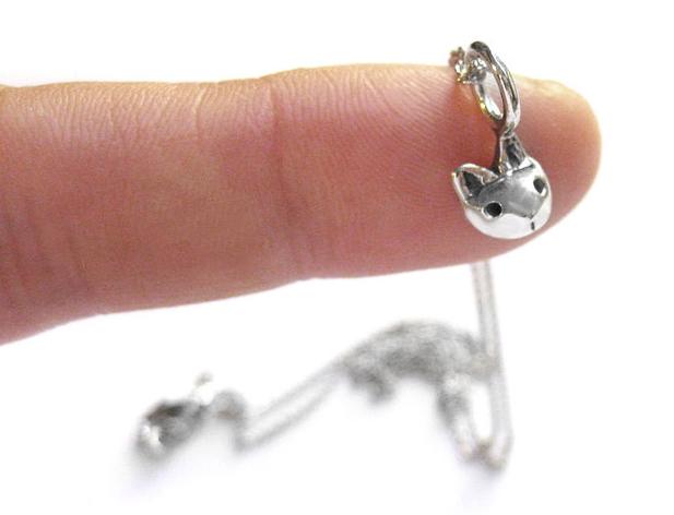 Cat Head necklace - Elaine Ho