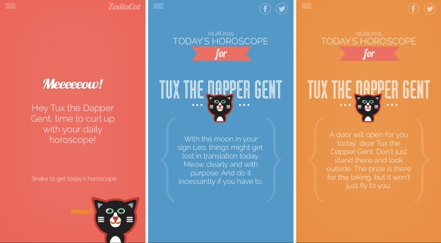ZodiaCat screenshots