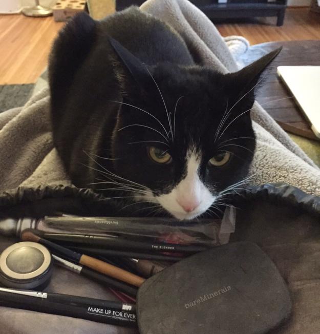 Tux makeup
