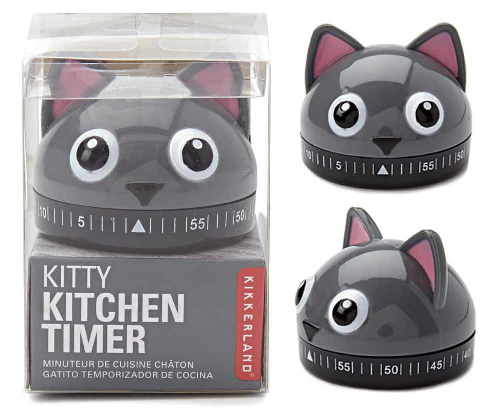 Cat Lady Covets: Kitty Kitchen Timer